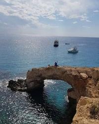 великолепные виды, бухта острова Кипр