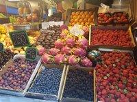 На фермерском рынке в Малаге