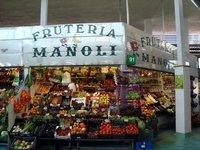 На Центральном рынке Марбельи