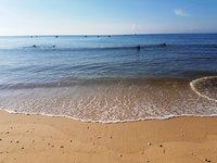 Море в Муйне в мае тихое и теплое