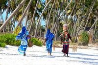 Танзания: местные красотки