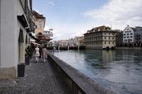 Швейцария: прогулка по Цюриху