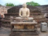 Будда как всегда безмятежен