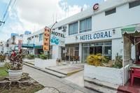 Канкун: на фото дешевый сегмент отелей