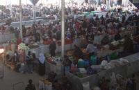 Рынок Самарканда. Вид со 2-го этажа