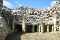 Остров Гозо. Храм Джгантия