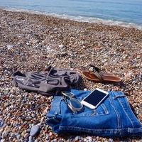 Галечный пляж в пос. Окурджалар, Турция