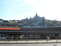 Стокгольм: по дороге к центральной части города