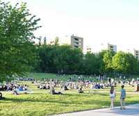Стокгольм: прогулка по парку