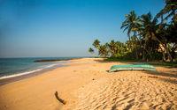 Песчаный пляж Шри-Ланки