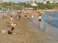 Пляж на Кипре, июль 2018