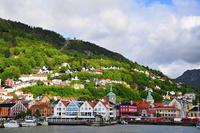 Побережье Норвегии в июле