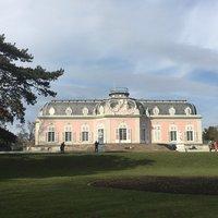 Дворец Бенрат в Дюссельдорфе, март 2018