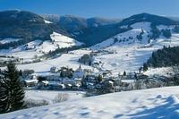 «Лыжный цирк» деревушки Заальбах