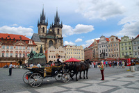 Прекрасная июльская Прага