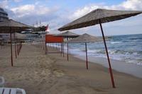 Варна: море в ноябре неспокойное