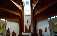 Внутреннее убранство церкви Св. Духа. Хевиз. Январь.