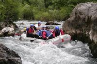 рафтинг на реке в Хорватии