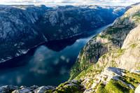 Выразительные пейзажи Люсефьорда