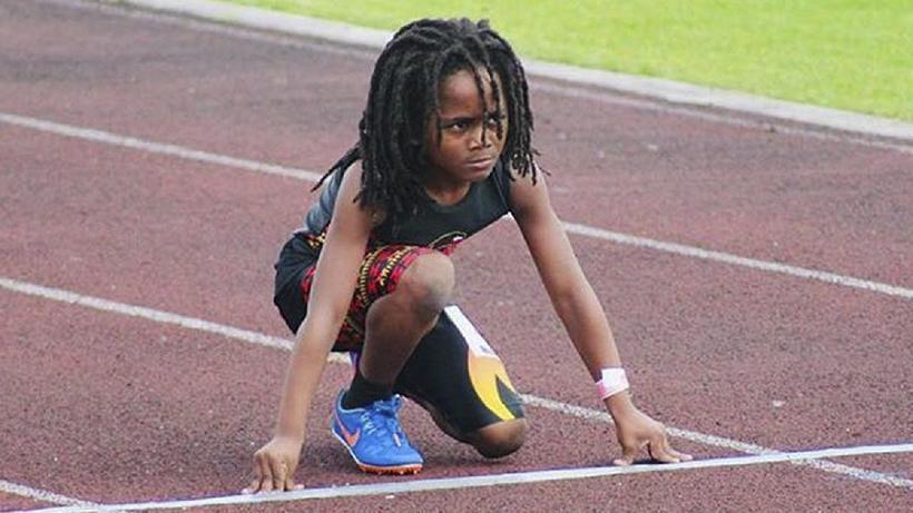 7-летний мальчик, который побил мировой рекорд в беге на 100 метров