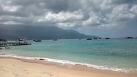 Пляж (Тиоман, Малайзия) в сентябре