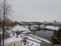 Ноябрь в Витебске может быть снежным