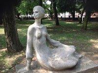Скульптура в парке в Минеральных водах