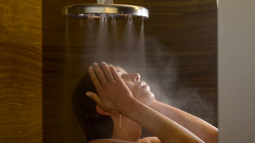 Экономный душ, который позволяет уменьшить потребление воды на 70%