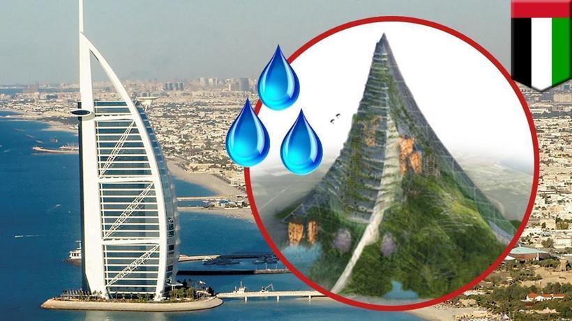 В ОАЭ могут построить искусственную гору, которая стимулирует образование осадков