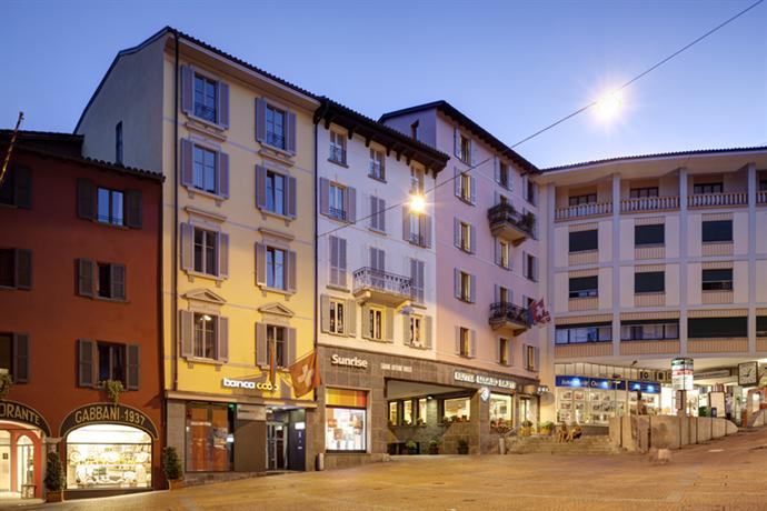 Lugano Dante Center Swiss Quality Hotel