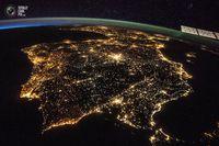 30 потрясающих видов из космоса (часть 2)