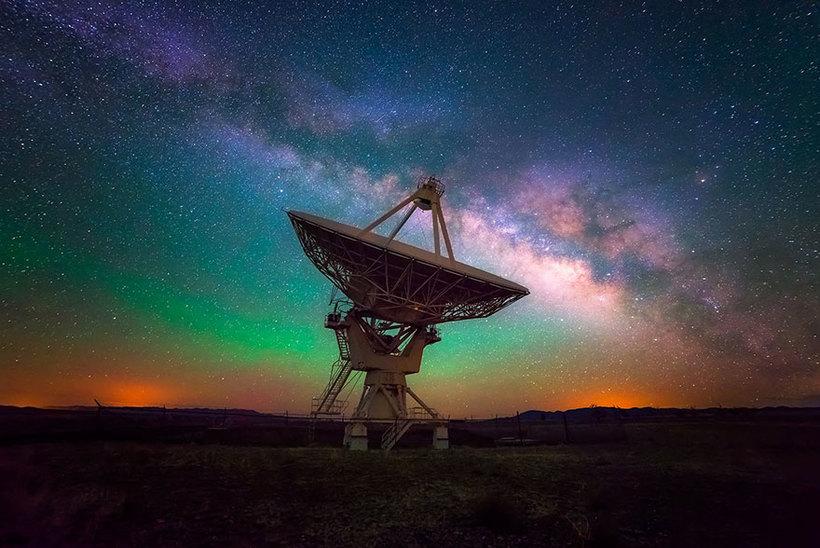 Радар ночное фото