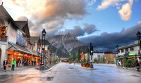 Банф: сердце прекрасного города в Канаде
