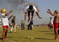 Деревенские Олимпийские игры в Индии