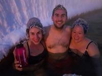 Сумасшедшие замерзшие прически — экзотическое развлечение канадцев