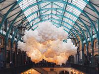 100 000 воздушных шаров внутри лондонского рынка Ковент-Гарден. Это нереально красиво!