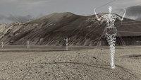 В Исландии архитекторы превратили скучные электрические пилоны в гигантские статуи