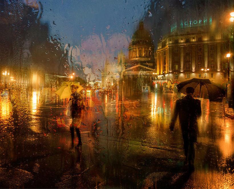 уже первый фото город под дождем нетребко является