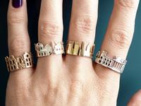 Любимый город на пальце: потрясающие кольца — новый мировой тренд!