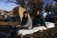 Как живут бездомные в США