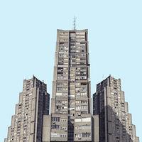 Парень отыскал в Белграде здания из «Звездных войн»
