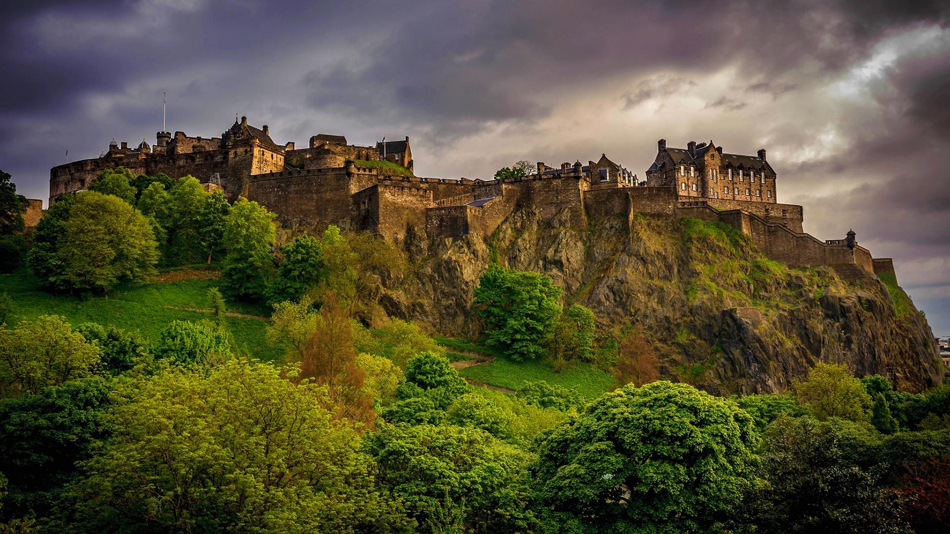Обои scotland, эдинбург, утро, Шотландия, edinburgh. Города foto 15