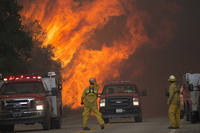 Ужасная красота пожаров в Калифорнии: 20 фото, которые невозможно забыть