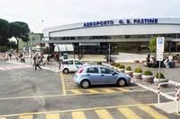 Вот так выглядит центральный вход в аэропорт Чампино