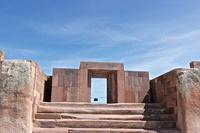 Боливия Многонациональное Государство Боливия. tiwanaku puma punku 9