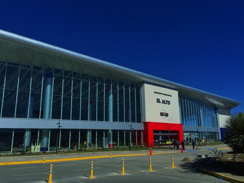 Боливия Многонациональное Государство Боливия. El Alto International Airport  New Terminal