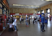 Bologna central bus station