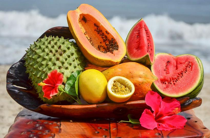 Тропические фрукты фото и названия
