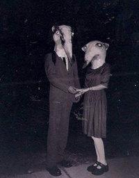 20 винтажных снимков Хэллоуина, от которых душа уходит в пятки