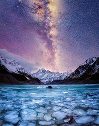 12 умопомрачительных зимних фото ночного неба Новой Зеландии